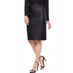 The Limited   Faux Leather Skirt